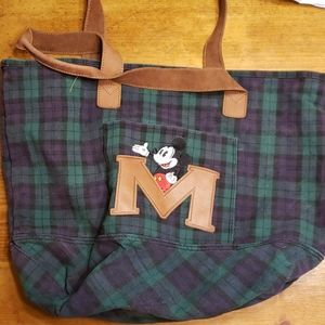 Vintage Mickey Mouse tote bag
